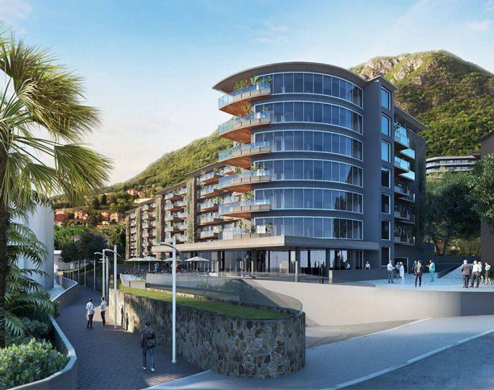 Residenza Parco Lago at the Riva Paradiso-Lugano