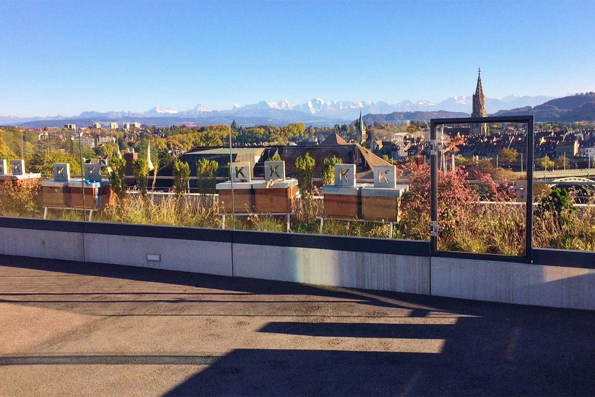 CREA GG-1002 - Terrasse Pare-vent Kursaal Bern
