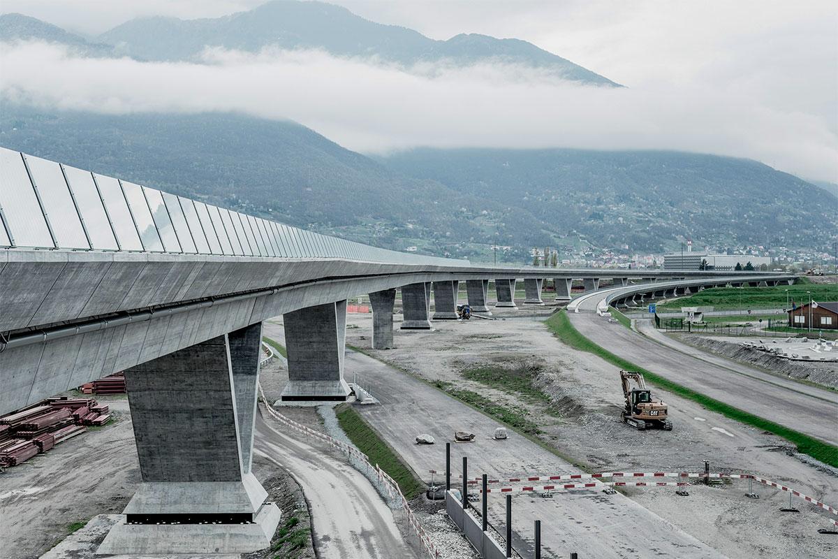 CREATIVITY - Paroi anti-bruit - AlpTransit Gotthard
