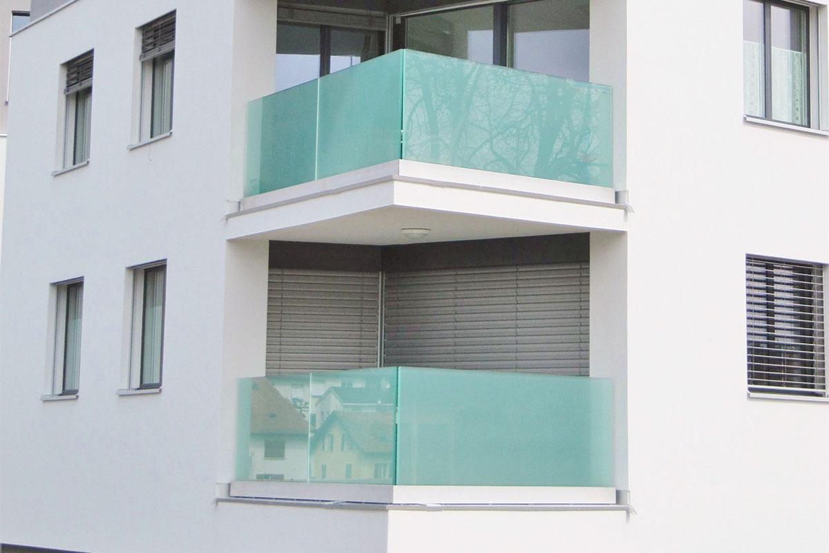 CREA-GLASS Opake Folie (Mattfolie) - Haus und Wohnkolonie Les Lovières