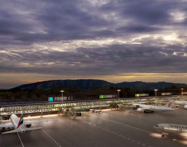 Flughafen Genf - Ostflügel